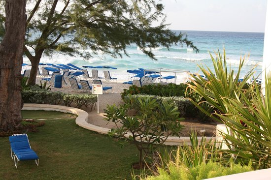 Turtle Beach by Elegant Hotels: View from our Ocean view room