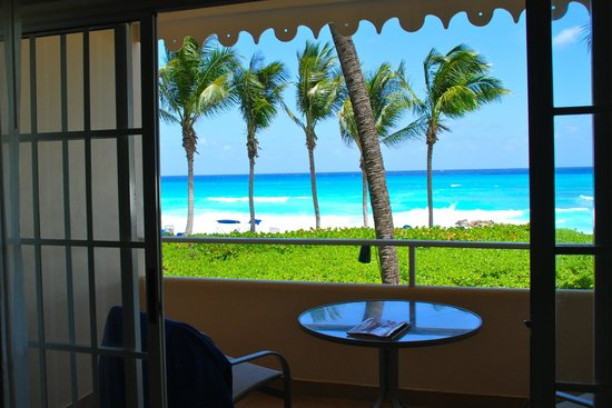 ‪‪Turtle Beach by Elegant Hotels‬: View from Ocean View Room‬