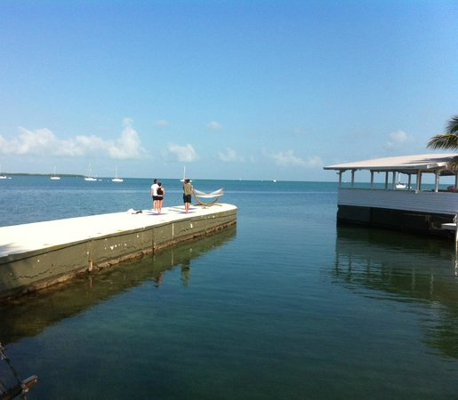 Casa Morada: They offer yoga on the pier. So calming!