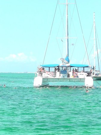 Melia Varadero : Catamaran snorkelling trip 