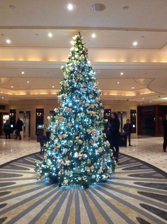 London Hilton on Park Lane: Christmas Tree