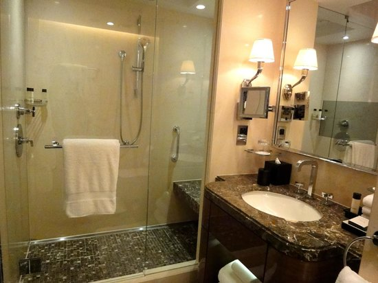 Four Seasons Hotel London at Park Lane: amazing bathroom