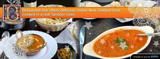 Gisborne, New Zealand: Perfect place to dine for delicious Indian curries