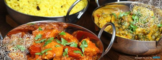 Gisborne, Nuova Zelanda: Large range of beautiful indian curries