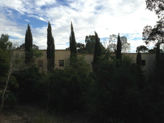 Lyndoch, Australia: our balcony view of Chateau Barossa