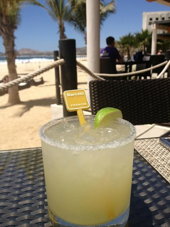 Barcelo Los Cabos Palace Deluxe: topshelf margarita at the steakhouse