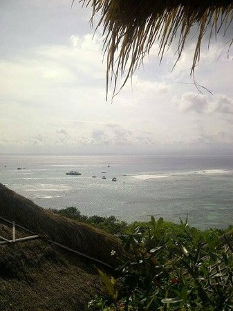 Batu Karang Lembongan Resort and Day Spa: view from our room