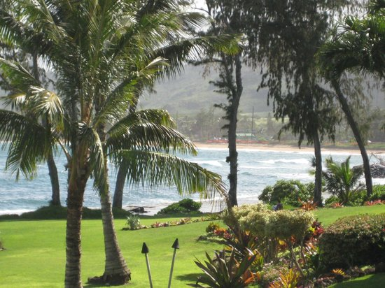 Lae Nani Resort Condos: nice view from the lanai