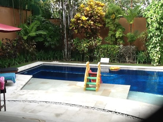 The Kunja Hotel: pool in 1 bedroom villa
