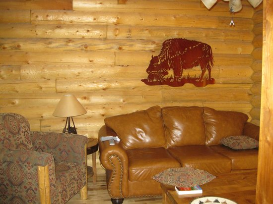 Zion Mountain Ranch: Living room