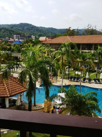 Centara Karon Resort Phuket: View from our room 2322