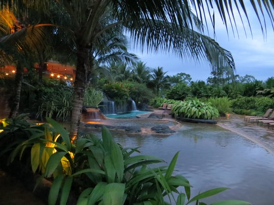 The Springs Resort and Spa at Arenal: Pool area