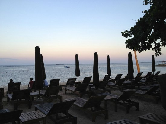 Novotel Bali Benoa: Beach view