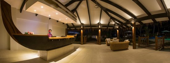 Tropica Island Resort: Reception