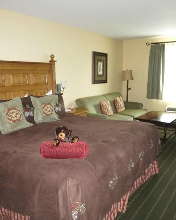 Bavarian Lodge: Very clean, very comfy beds