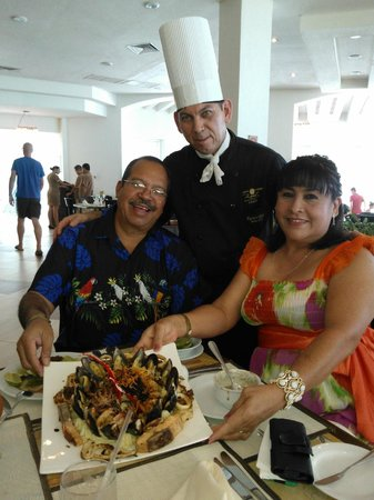 Gran Caribe Real Resort & Spa: Chef Ramiro Flores.