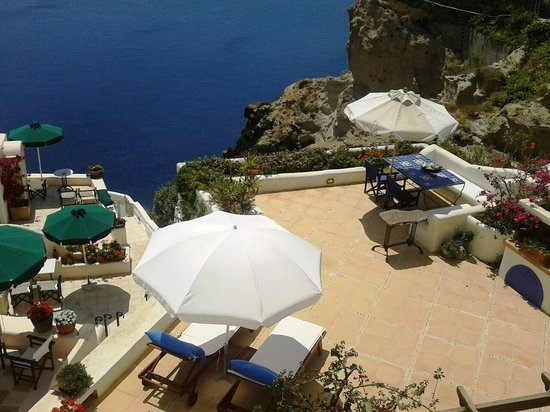 Ifestio Villas : Villa Hercules -the big private terrace-