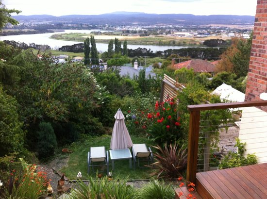 Launceston, Australien: View from the balcony