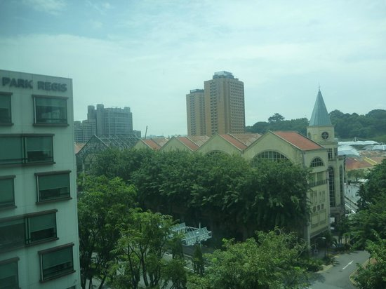 Park Regis Singapore: pic from room
