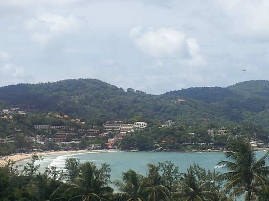 Avista Phuket Resort &amp; Spa : Fantastic view of Kata from the 2nd room 