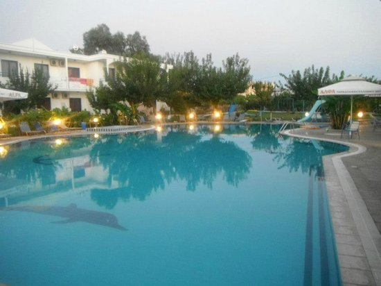 Pastida, Greece: The big pool