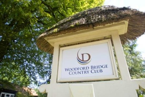 Holsworthy, UK: Welcome to Woodford Bridge Country Club