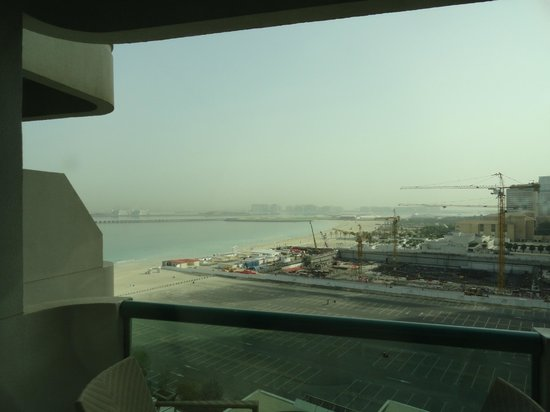 Hilton Dubai Jumeirah: View from balcony