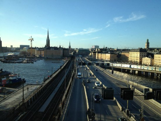 Hilton Stockholm Slussen: my view from the room