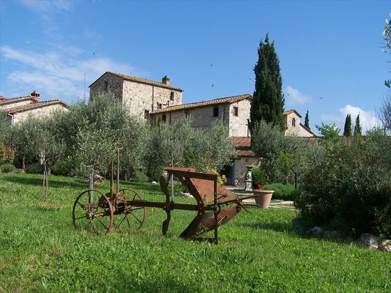 Gaiole in Chianti, Italien: Giardino