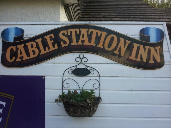St Levan, UK: Welcome to Cable Station Inn