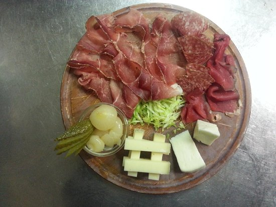 Ledro, talya: Antipasto trentino