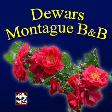 Dewars Montague Bed and Breakfast: Our New Road Sign