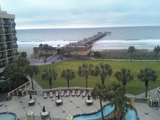 Springmaid Beach Resort & Conference Center: Visit from May 2013- view from our room.