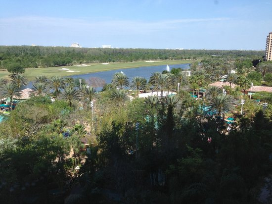 JW Marriott Orlando Grande Lakes: View from our hotel room