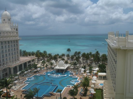 Riu Palace Aruba: View from Room 802, Main Building (A)