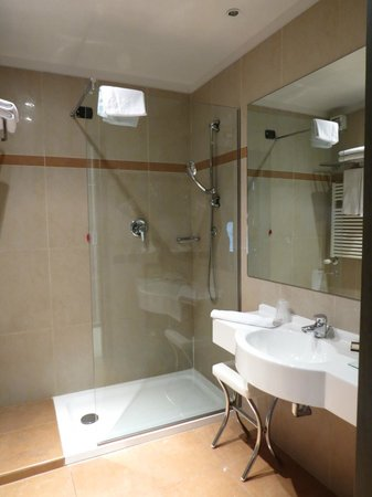 Aemilia Hotel: Bathroom