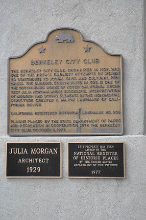 Berkeley, CA: Historic Plaque