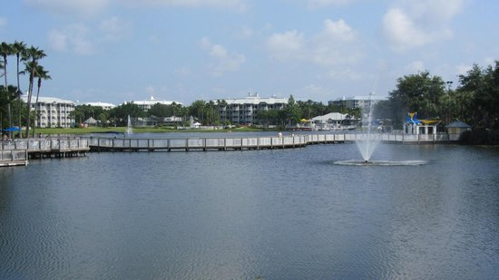 Marriott&#39;s Cypress Harbour: Bridge