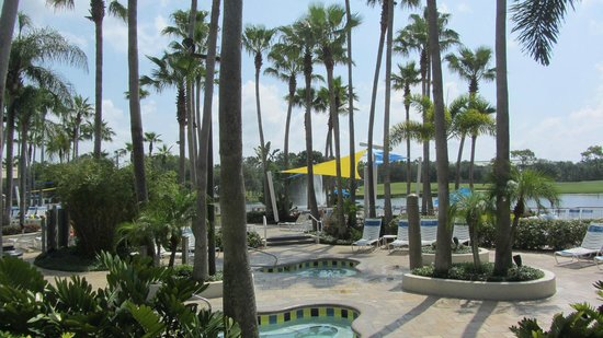 Marriott&#39;s Cypress Harbour: Island pool area