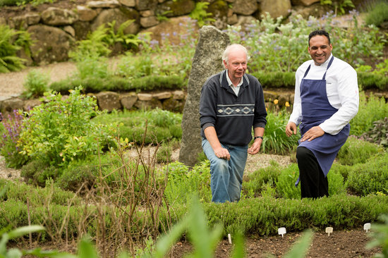 Gidleigh Park Hotel: Michael Caines in the vegetable