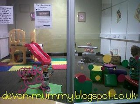 Newton Abbot, UK: The Play Area at Mr Biscuits