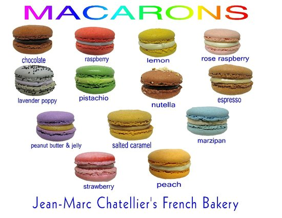 French Macarons (gluten free) - Picture of Jean-Marc Chatellier's ...