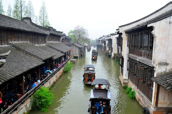 Tongxiang, Cina: Water way, Wuzhen