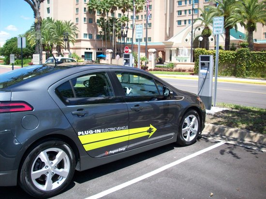 The Florida Hotel and Conference Center: Car Charging Stations