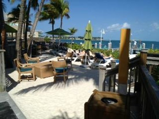Hyatt Key West Resort and Spa : Small beach 