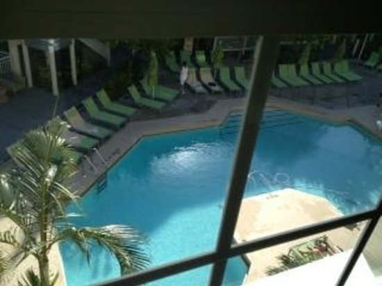 Hyatt Key West Resort and Spa : View of pool from our room 