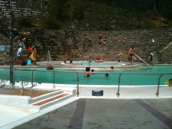 Prades, Frankreich: The main bath and roman style arena