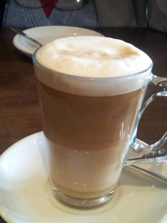 Beaumaris, UK: Latte.