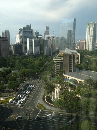 Makati Shangri-La Manila: View