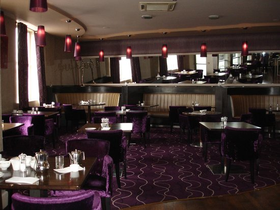 Harbour Hotel Galway: Dining area